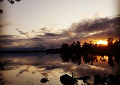 Inarin järvi illan hämyssä_LAP_Adventures